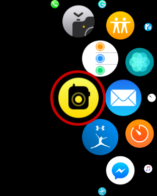 AppleWatchトランシーバーアプリ