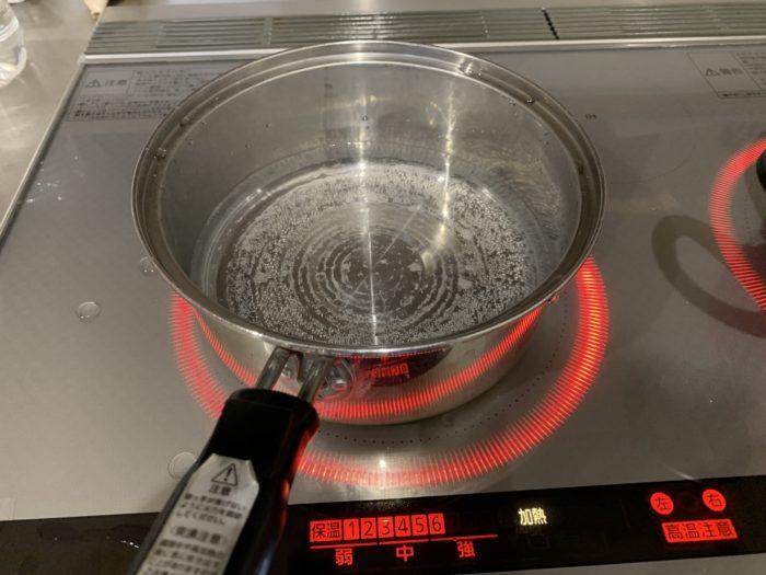 ガシラの味噌汁の作り方