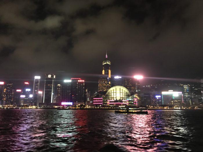 香港連絡船からの夜景