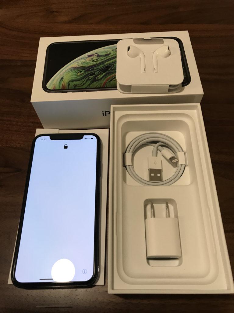 iPhoneXsのセット内容